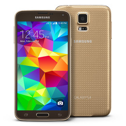 Wholesale Android Cell Phone T Mobile - Refurbished Original Samsung Galaxy S5 G900A G900P G900T G900V G900F 5.1Inch Quad Core 4G LTE ATT T-mobile USA EU Unlocked Cell Phones