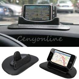 Автомобиля универсальный приборной панели анти-скольжения липкие Pad держатель стенд для GPS мобильный планшет для Iphone 6 плюс для Tomtom для Garmin GPS от Поставщики крючок для сотового телефона
