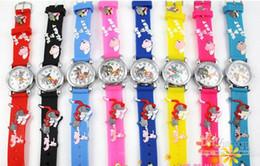 Детские подарки онлайн-2017 новый мультфильм Том и Джерри 3D Кварцевые наручные часы дети мягкий силиконовый ремешок для часов часы для детей Рождество подарок на День Рождения
