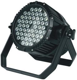 Wholesale 54 Led Par Lights - Waterproof outdoor LED 54x3W par Light,54*3W RGBW LED Par Light, IP65 LED Par Can
