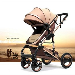 Wholesale Lightweight Prams Strollers - 2016 Hot Baby Umbrella Lightweight Stroller Portable Folding Baby Stroller Car baby Carriage Pram with Four Wheels Free Shipping