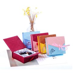 Wholesale Jewelry Bangle Organizer - Jewelry Box New Square Package Bracelet Bangle Bowknot Display Box Gift Present Case Packaging Box Jewelry Organizer ZA5122
