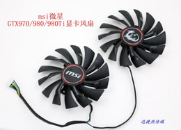 Wholesale Msi Cooler - New Original for MSI GTX970   GTX980   GTX980Ti graphics card cooling fan