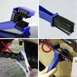 Wholesale motorcycle cleaner - Motorcycles and bicycles chain brush bicycle Cleaning Brush Bicycle cleaning Square shape brush Chain cleaning tool IA965