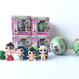Wholesale Tear Spray - 2017 Series 2 Dress Up Toys baby Tear change egg can spray Realistic Baby Dolls lil sisters 45+ Kids toys