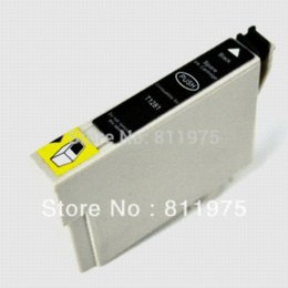 Wholesale Epson Tx135 - 1set Free shipping T1351 T1332 T1333 T1334 compatible ink cartridge For EPSON StylusT25 TX123 TX125 TX133 TX135 Printer