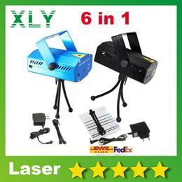 Wholesale Mini Luces - 2015 Rushed mini laser stage lighting DJ Controller Par LED Projector Effect Disco DJ Xmas Ball Blue Laser Party Lights Luces Fiesta