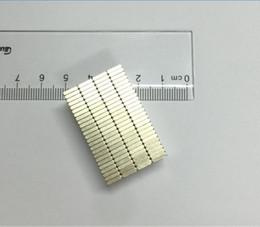 Materiales de puesta a tierra online-100 unids Bloque de Materiales Magnéticos 5x3x1mm N48 Super Fuerte Potente Imán de Neodimio Bloque Cuboide Imán Neodimio de Tierras Raras