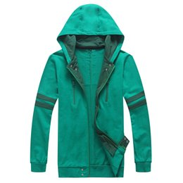 Wholesale Ken Costume - Free Shipping Cosplay Tokyo ghouls Ken Kaneki 2014 New Green Thick Hoodie Sportswear daily Costume