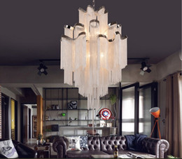 Wholesale Empire Chandeliers - Newly French Empire Chain Chandelier Light Fixture Long Chain Hanging Suspension Lustre Lamp Chain Light