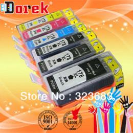 Wholesale Photosmart Cartridge - ree shipping(3 sets lot)compatible cartridge H178xl(CN684H,CB322H,CB323H,CB324H,CB325H)with chip for Photosmart 5510 PRINTER cartridge c...