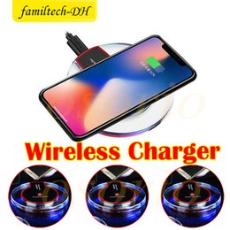 Wholesale Wirless Adapter - Universal Qi Wireless Charger Charging Pad Mobile Phone Adapter Dock Station Wirless Charge Cell for Samsung S7 S6 edge Note 4 5