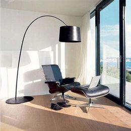 Wholesale Iron Floor - Foscarini Twiggy Terra Floor Lamp Fishing Floor Lamp Modern Minimalist Fashion Black Yellow Red White Iron Living Room Light