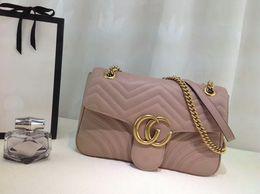 Wholesale Small Soft Box - New Fashion Women Bag Luxury Small Mirror Quality Handbags Designer Brand Vintage Shoulder Bag Marmontt Totes 443496 with box