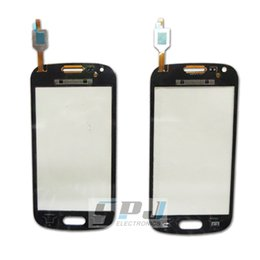 Wholesale Galaxy Ace 2x - Wholesale-for Samsung Galaxy Ace 2X S7560 galaxy Trend Duos S7562 touch screen digitizer touch panel touchscreen.Original new