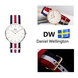 Wholesale Quartz Cloth - Men's Watches Free shipping hot new 2015 men's luxury brand quartz watch Japanese quartz clock fashion watches Plant cloth strap 40 mm dial