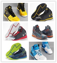 Wholesale Top High Cut Basketball Shoes - 2017 New Wholesale Stephen Curry 2 CluchFit Drive High Top Basketball Shoes MVP Curry 2 Two Training Shoes Mens Athletic Sneaker Shoes