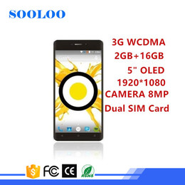 Wholesale Android 3g 5inch - wholesale Low Price 3G WCDMA wifi Quad core 2GB RAM 16GB ROM Camera 8MP 5inch OLED smartphone android