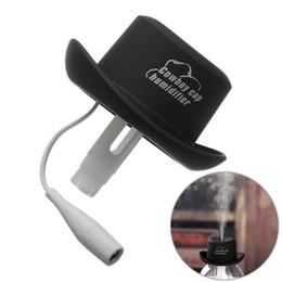 Wholesale Free Keyboard Typing - Free Shipping humidifying aroma diffusion air purification Mini USB cowboy hat humidifier Household car Air purifier humidifier