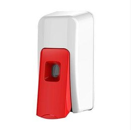 Wholesale Wall Mounted Hand Soap Dispensers - Retail 600ml Wall Mounted Manual Foam & drop liquid Soap dispenser Hotel Super ABS Liquid Sanitizer Container paste & punch all ok TD687