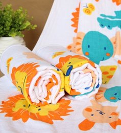 Wholesale Kids Printed Towels Sizes - baby shower towel large size 95*115cm kids children's beach towels cartoon cotton child bath towels toddlers robesbaby Accessories 2015