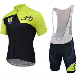 Wholesale Mens Gel Padded Cycling Shorts - Wholesale-2015 mens team blue or green peter sagan Cycling Jersey Sports wear   Clothing short sleeve Bib Shorts Gel pad cycling wear