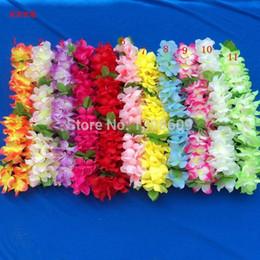 Shop silk hawaiian flowers uk silk hawaiian flowers free delivery 20pcs hawaiian leis jumbo silk flower luau party favor artificial garland wreath cheerleading necklace decoration mightylinksfo