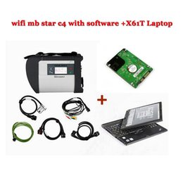 Wholesale Touchscreen Laptop Wifi - V2017.07 wifi mb star c4 sd connect with HDD newest multi languages Das epc wis with for Lenovo X61T super touchscreen laptop
