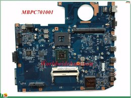 Wholesale Acer Support Aspire - MBPC701001 For Acer Aspire 7735G 7738G Laptop Motherboard PGA479 Integrated DDR3 100% Tested&Testing Video Support