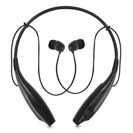 Wholesale Bluetooth Headphone For Pc - US Stock! Wireless Sport Bluetooth Stereo Headset Earphone Headphone Handfree for iPhone iPad Nokia HTC Samsung Galaxy S3S4 LG PC