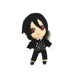 Wholesale Anime Plush Black Butler - Demishop Japanese Anime Black Butler Sebastian Michaelis Kuroshitsuji 26cm 13cm Plush Toy Stuffed Doll Gift Collection