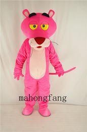 NOUVEAU costume de costume de mascotte de panthère rose fantaisie robe de fête de noël taille adulte dessin animé costume livraison gratuite vente directe d'usine ? partir de fabricateur