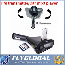 Wholesale Cheapest Car Usb Port - Multi-Color With LCD Car mp3 Display Remote Control smart Car Kit MP3 WMA Wireless Player FM SD Card USB Port Audio Cable the Cheapest