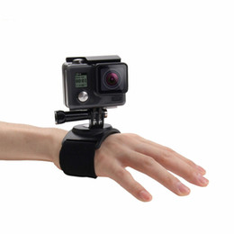 Wholesale Canvas Mounting - For Sports Camera Accessories Hand Wrist Arm Leg Straps 360-degree Rotation Mount for Action Camera HERO5 HERO4 Session HERO 5 4 3+ SJ4000