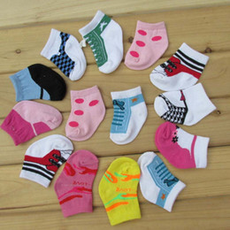 Wholesale Newborn Clothes For Boys Wholesale - Children Socks Socks For Kids Baby Socks Newborn Cotton Sock Baby Best Socks 2016 Boys Girls Ankle Socks Child Clothes Kids Clothing C19741