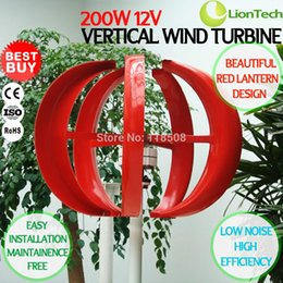 Wholesale High Quality Wind Generator - 200W 12V High Quality Home Boat Quiet Wind Turbine NE-200S, AC 3-Phase Permanent Magnet Generator Fiber Glass Blades CE ISO9001