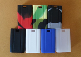 Wholesale Evic Casing - Silicone Case Colorful Rubber Box Sleeve protective cover Skin For evic vt 60w 60 watt temp control TC Box Mod vs nebox