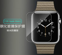 Wholesale Impact Protectors - Impact Glass Tempered 0.2mm 9H 2.6D Top Clear Film Explosion Proof Guard screen protector For Apple watch iwatch 38mm 42mm 5pcs 10pcs 20pcs