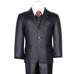 Wholesale White Coat Suit For Boys - Nimble suit for boy Black Classical Kids Coat Solid Single Breasted Children Forma Blazers For Wedding jogging garcon