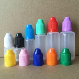 Argentina Botellas de agujas de PE 3ml 5ml 10ml 15ml 20ml 30ml Botella vacía de plástico suave con tapa a prueba de niños Extremidades finas y finas del gotero DHL FedEx gratuito Suministro