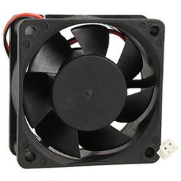 Wholesale 24v Cooler Fans - Wholesale- GTFS-Hot Sale 60mm x 25mm PC CPU Cooling Fan 24V 2 Pin Case Cooler 0.15A 6025