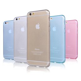 Wholesale Iphone Ultrathin Case Frosted - For iphone 4 4s 5 5s 5C 6 6G 6 plus Samsung galaxy S3 S4 S5 Note 2 3 4 Ultrathin Frosted matte Back cover Colorful soft cases polish shell