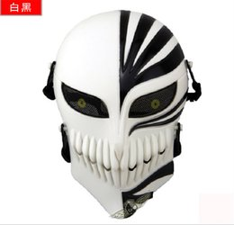 Wholesale Volto Masks Dance - DC16 animation film Field protective Skull Full Face death Masks for Halloween dance Movie props riding Airsoft Paintball CS
