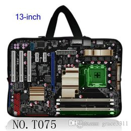 """Wholesale Hp Laptop Mainboard - Character Mainboard Many Design 13"""" Laptop Sleeve Bag Case For 13.3"""" Apple MacBook Pro,HP Folio,Acer"""