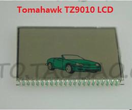 Argentina El regulador teledirigido de dos vías del sistema de alarma del coche de Tomahawk TZ9010 LCD rusia de la versión más nueva libera el envío Suministro