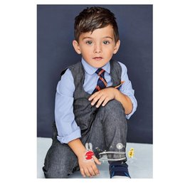 Wholesale Boys Long Coat 12 - Boys Outfits and Sets Babys, Kids Clothes Long Sleeve Jacket Coat T shirts Pants jeans 3sets 2016 Autumn Winter outfits and sets-011
