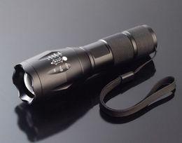 Wholesale Highest Lumen Led Flashlight - Free Shipping UltraFire E17 Touch Cree XM-L T6 2000 Lumen XML LED Light Zoomable led flashligh Waterproof Flashlight ,