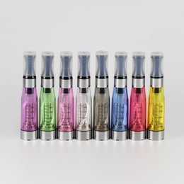 Wholesale Ego Clearomizer Dhl - Hot sale Ego CE4 tank CE4 Atomizer aporizer Cartomizer for electronic cigarette CE4 Clearomizer E Cigarette EGO Atomizer Vaporizer DHL Free