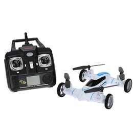 Wholesale Flash Flip - New Original Syma X9 2.4G 4CH 6-Axis Gyro RC Quadrocopter Air-Gronud Flying Car with 360 Degree Flips Function Drone order<$18no track