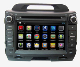 """Wholesale Two Din Dvd - hot sale 8"""" digital panel android system dual core two din car DVD player for KIA SPORTAGE(High equipment)"""